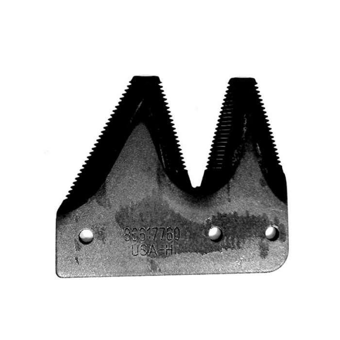 Сегмент ножа жатки крайн.2020 (1,5) - запчасти для тракторов, комбайнов и пресс-подборщиков ТМ CASE в agro-car.com.ua