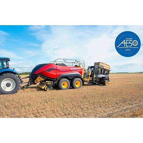 New Holland получил две награды ASABE Innovation Awards