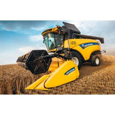 Представлен новый гибридный комбайн New Holland CH7.70