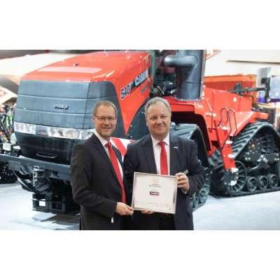 Два трактора Case IH получили награду Машина года 2019