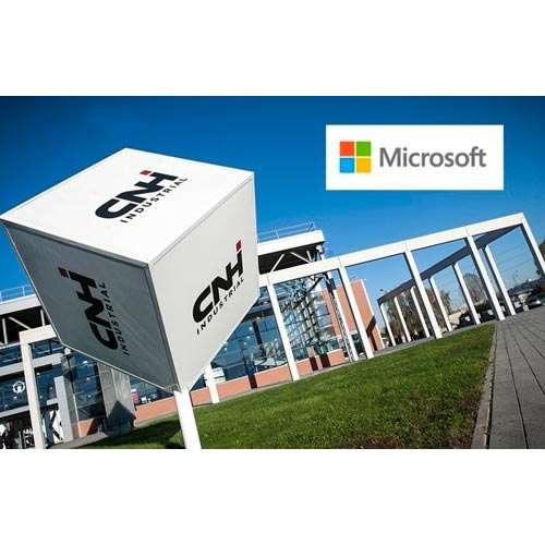 CNH Industrial и Microsoft вместе будут разрабатывать интеллектуальные машины