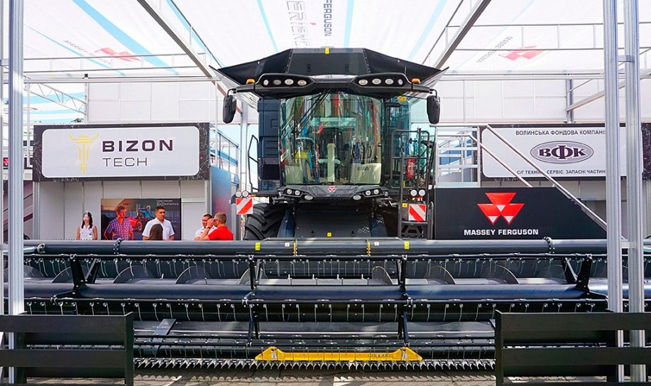 Представили новый трактор Massey Fergusson Ideal 7