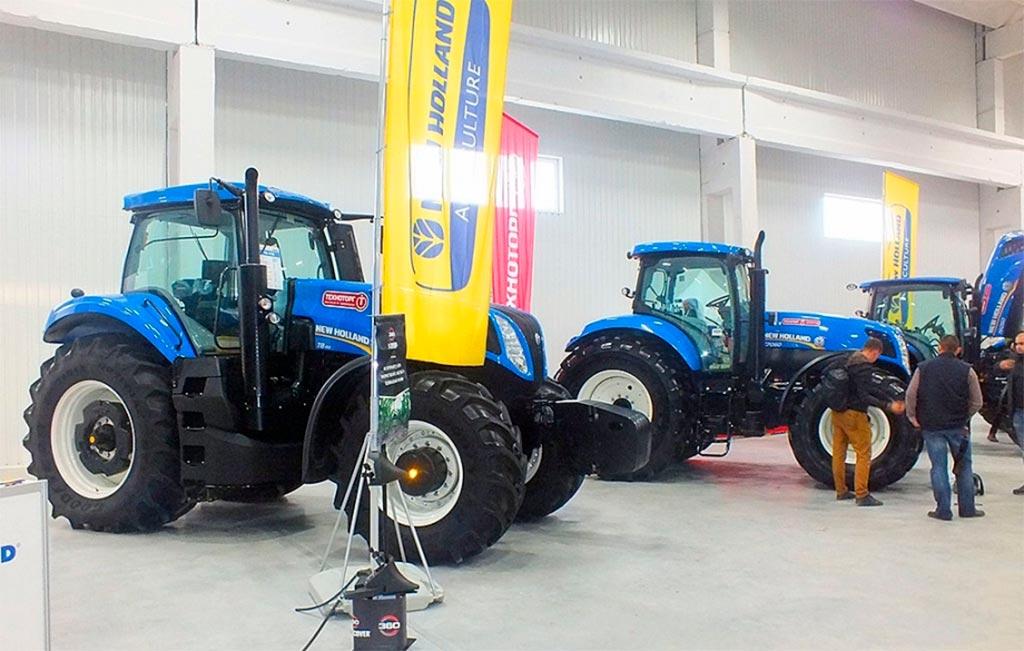 New Holland представил на AgroExpo 2020